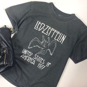 Led Zeppelin Vintage Style Graphic T-shirt